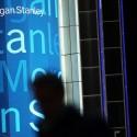 Morgan Stanley Reports 55 Percent Increase in Quarterly Profits (Spencer Platt / Staff)