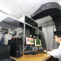 Research Team From Tianjin University Simulate Cockpit Air Of C919 In Tianjin (ChinaFotoPress / Stringer)