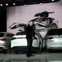 Tesla Debuts Its New Crossover SUV Model, Tesla X  (Justin Sullivan / Staff)