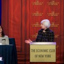 Federal Reserve Chair Janet Yellen Speaks To The Economic Club Of New York