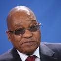 South African President Zuma Visits Berlin