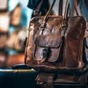 Brown Leather Handbag Selective-focus Photography
