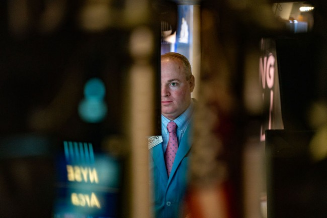 Dow Continues Downward Trend As Bond Market Rallies